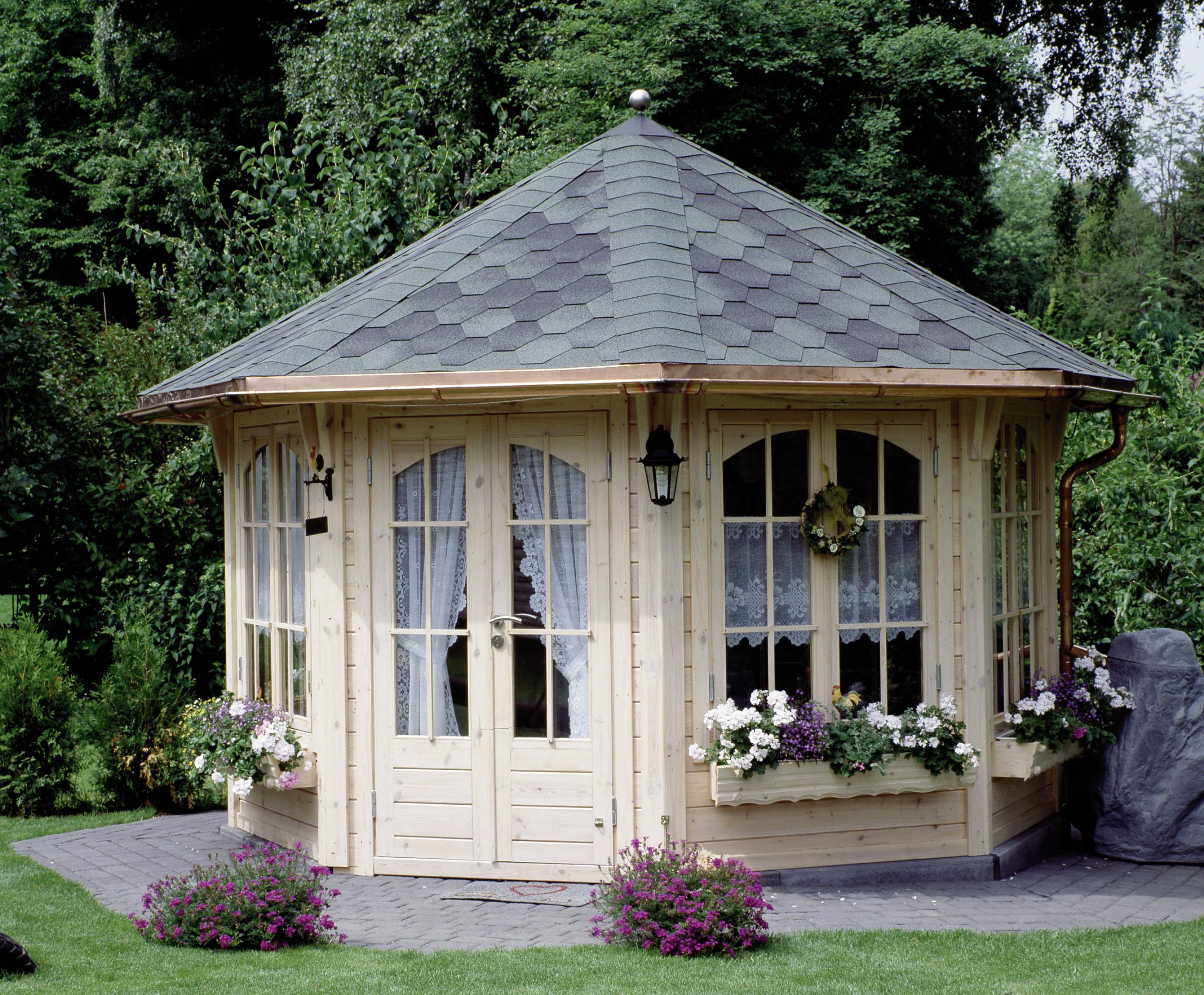 5 Eck Gartenhaus Mit Anbau. Best Gartenhaus Ist Nicht Gleich